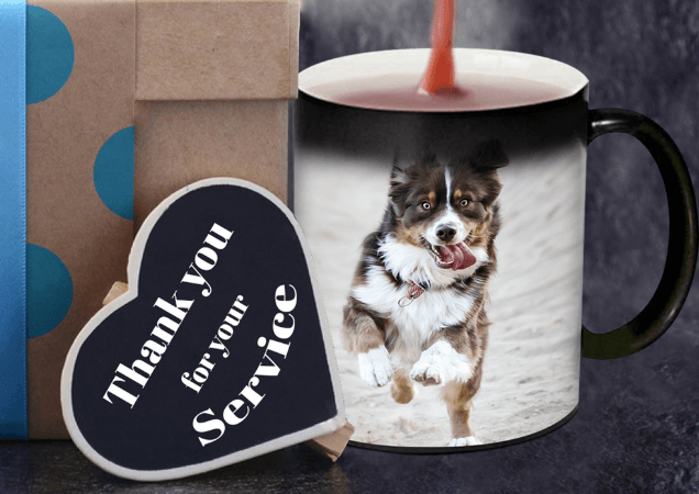 Brighten Your Day with Pet Photo Magic Mugs