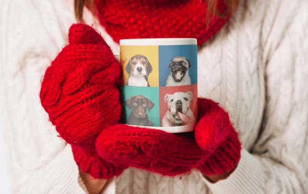 Personalized Pet Photo Mugs